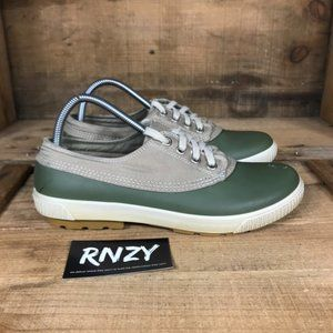 Cougar Dash Rubber Waterproof Green Tan Shoes